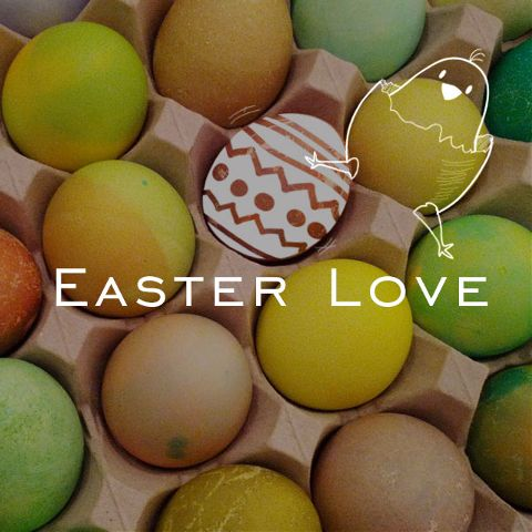 Easter love clipart