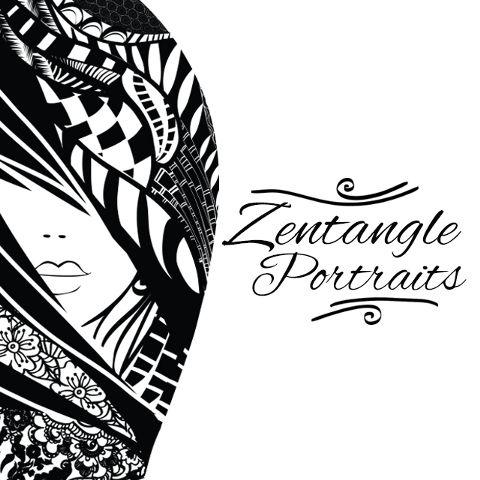 Zentangle Portraits clipart