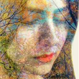 artisticselfie digitalmakeup doubleexposure wapselectioncrop