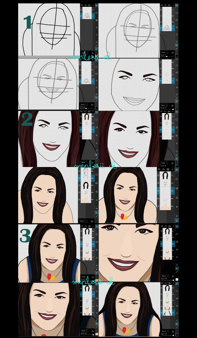 Drawing step by step..with Pa tool 100%  Hope this will be useful  #stepbystep #drawing #quicktip #madlene_pa