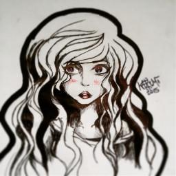 art doodle sketch drawing pen