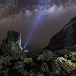 milky galaxy landscape longexplosure photoofday