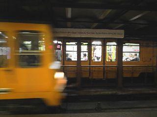 underground budapest yellow