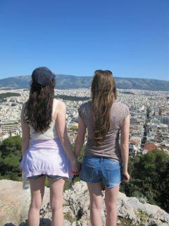 greece holiday summer sky blue