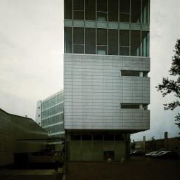 building architecture dark
