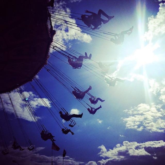 #swing #lensflare