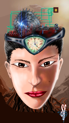 dcwallclock drawing