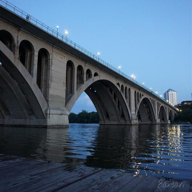 #bridge #arch #georgetown