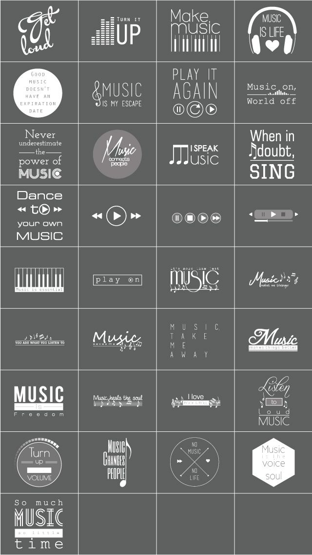 music is life quote clipart