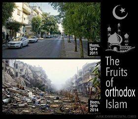 islam muslim terror syria war