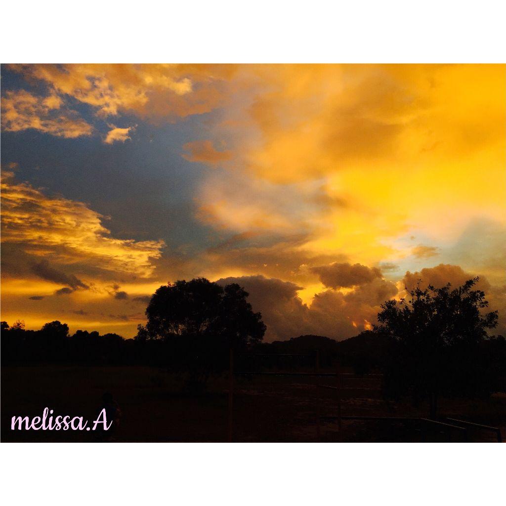 My fav spot  #sunset  #sabah  #borneo  #beautiful  #yellowsky  #sky