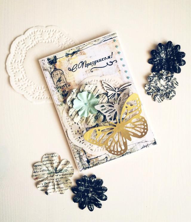 #scrapbooking  #handmade  #postcard