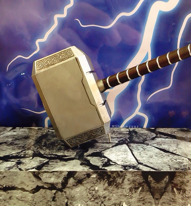 #photography  #iphoneography  #mjolnir  #thor'shammer   #marvel
