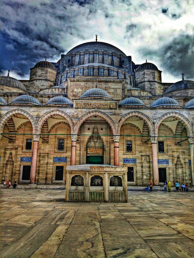 #photography #summer #travel #turkey #istanbul #nature #hdr #love #people #cami #mosque #suleymaniyecami #suleymaniye #islam