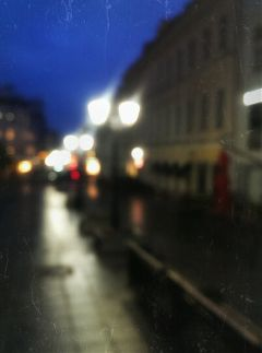 emotions city night light photography
