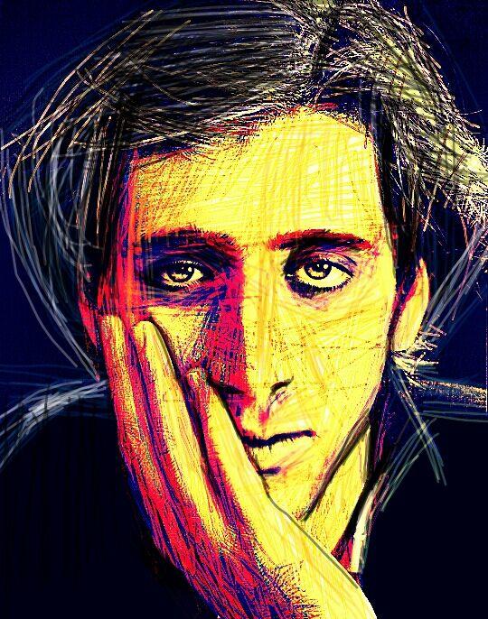Digital drawing of Nicolas Cage...  #drawing #digital #NicCagepedia  #niccagepedia #nicolascage