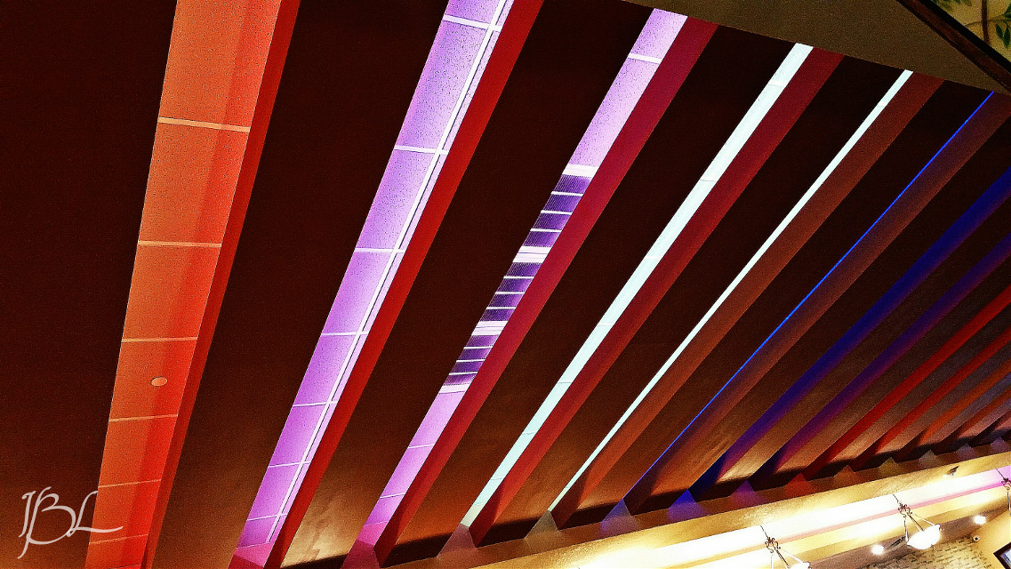 Ceiling in the Chinese restaurant we ate at today.     #colorful #photography #lights  #bright