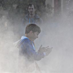 fog photography happychild