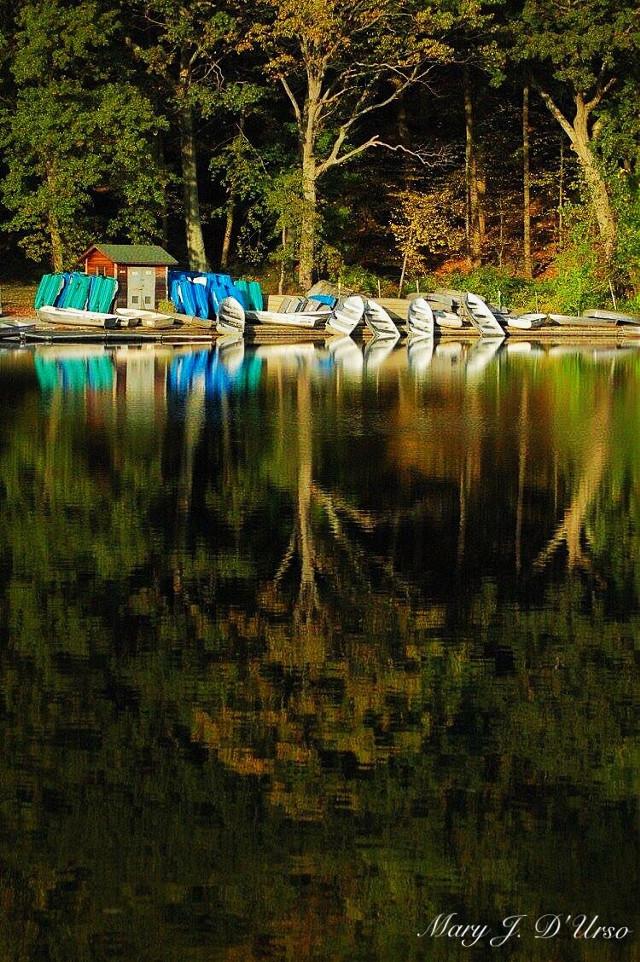 #bearmountain #hessianlake #reflection